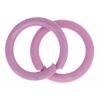 Neo Jumpring - 6.5mm Pink 23ga (Aprx 220pcs) 100g